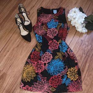 CeCe floral print dress NWOT